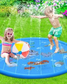 Kids sprinkler pool
